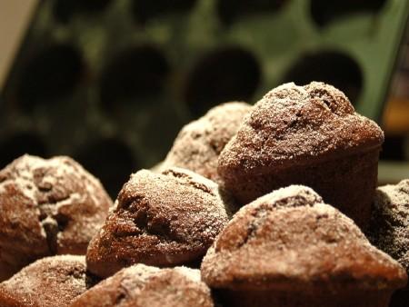 Banános-étcsokis muffin