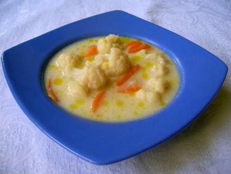 Karfiol leves