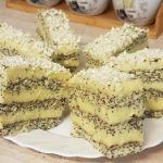 Mákos vaníliás krémes