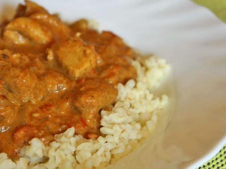 Indiai csirke curry